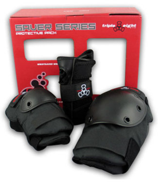 Triple 8 TRIPLE 8 SAVER SERIES 3 PACK PADS