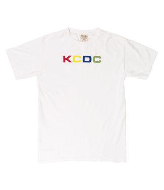KCDC KCDC multicolor logo tee