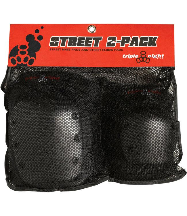 Triple 8 Street 2 Pack (Knee/Elbow)
