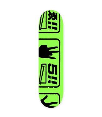 Evisen deck  Last 5 Safety Green 8.25