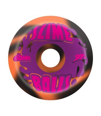 Slime Balls Slime Balls Splat Vomits Black Orange Swirl  97a 60