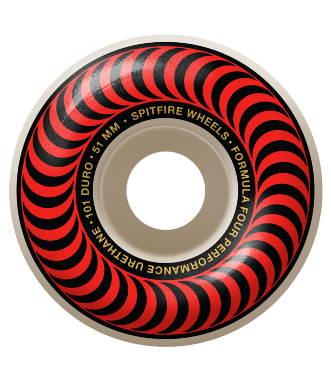 Spitfire F4 101D Classic Red 51mm