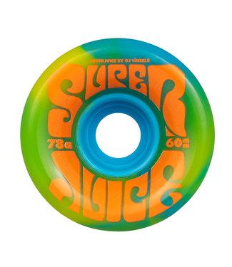 OJ OJ Super Juice 60MM Blue Yellow Swirl 78a