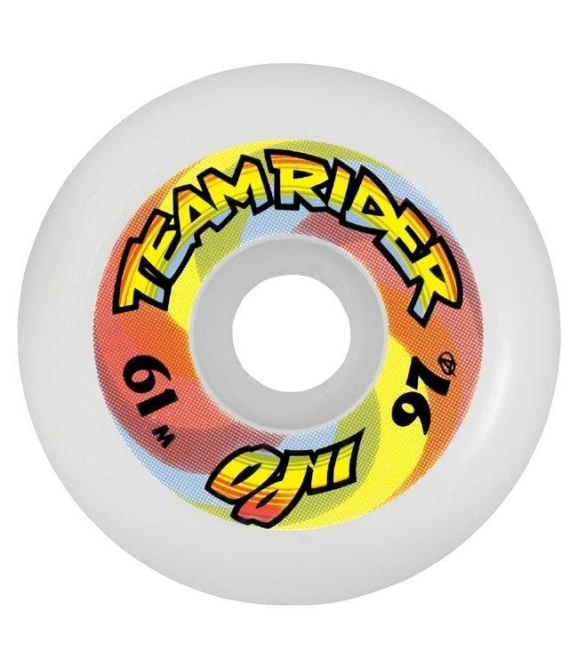 OJ II Team Rider Speedwheels Reissue Original White 61mm 97a