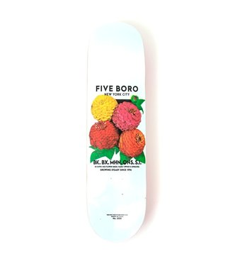 5Boro 5Boro Flower White Deck 8
