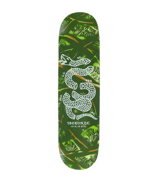 5Boro deck  Camo Pine Green 8.5