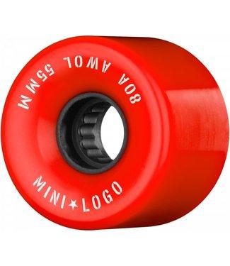 Minilogo Mini logo A.W.O.L wheels  Red 55M x 80