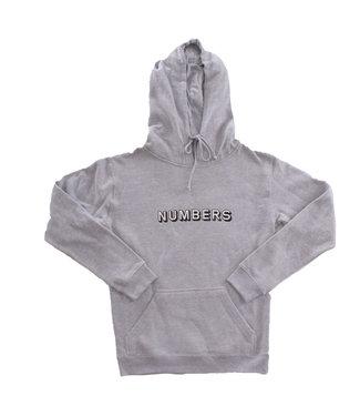 NUMBERS NUMBERS Fleece hoodie