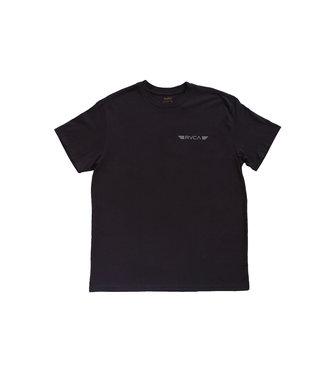 RVCA - Dual Brand SS Black Size XL