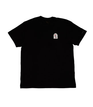 RVCA KRAK RAT PATCH TEE BLACK