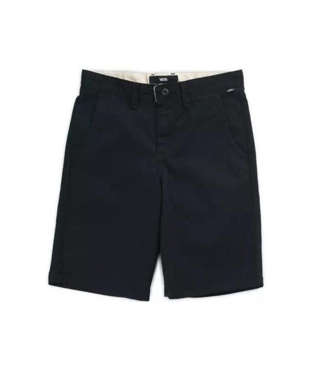 Vans Men's Authentic Stretch Black Shorts