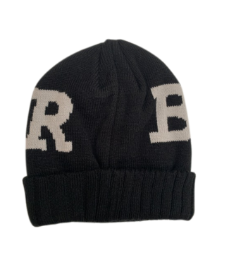 Baker Beanie  Ribbon Black