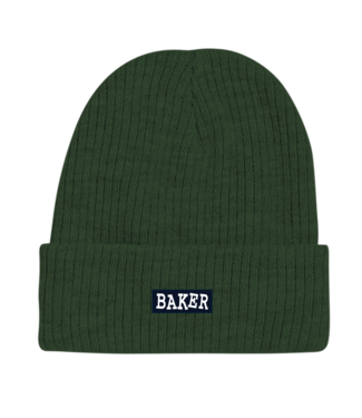 Baker Baker Beanie  Ribbon Forest Green