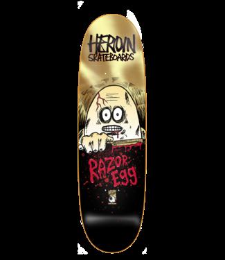 Heroin Heroin Deck  Razor Egg 9.125