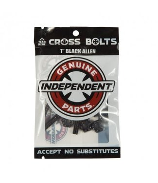 "Independent Independent Genuine Parts  Hardware 1"" Black Allen"