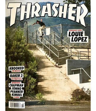 Thrasher Thrasher magazine October 2020