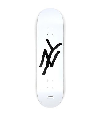 5Boro deck  NY Logo White 8.375