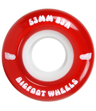 Bigfoot Bigfoot Cruiser Wheels 83A Red 53