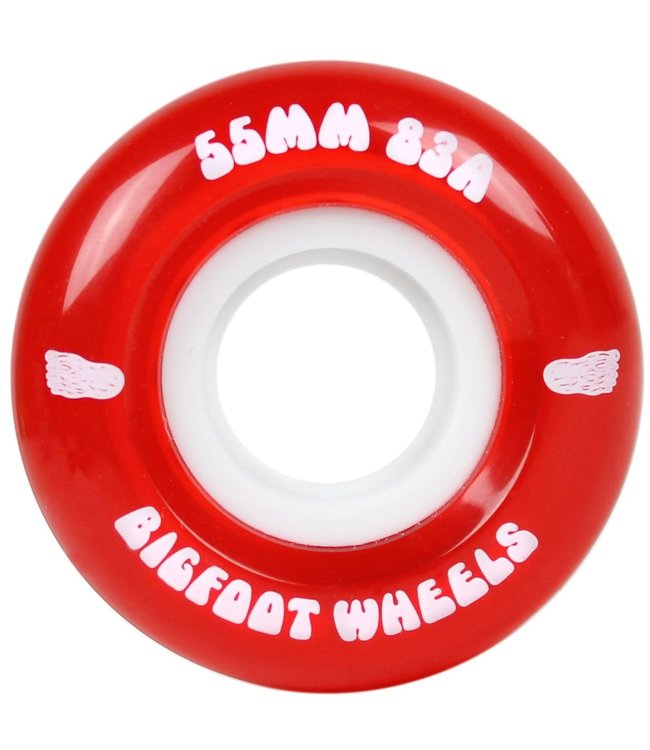 Bigfoot Cruiser Wheels 83A Red 55