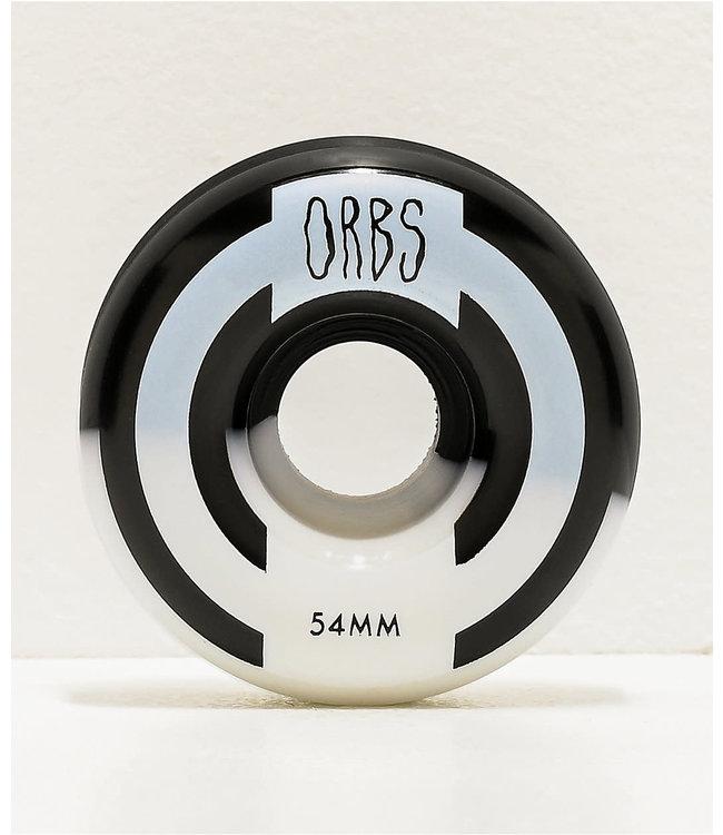 Orbs Wheels  APPARITIONS SPLITS BLACK/WHITE 54