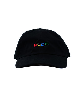KCDC KCDC Multi Color Logo Hat Black