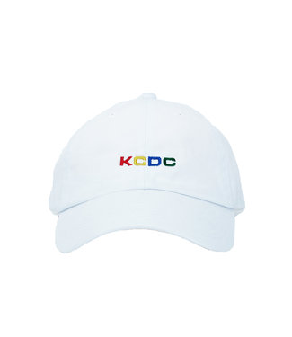 Kcdc KCDC Multi Color Logo Hat White