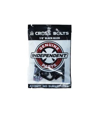 """Independent Genuine Parts Hardware 7/8"""" Black Allen"""