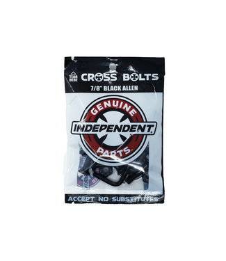 "Independent Independent Genuine Parts Hardware 7/8"" Black Allen"