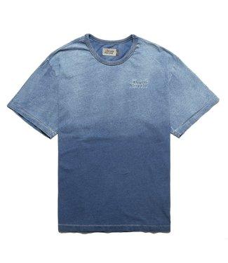 Chrystie Chrystie PRM Indigo Dye Classic Logo T-shirt