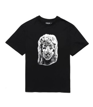 Chrystie Chrystie Harlem Jesus T-shirt Black