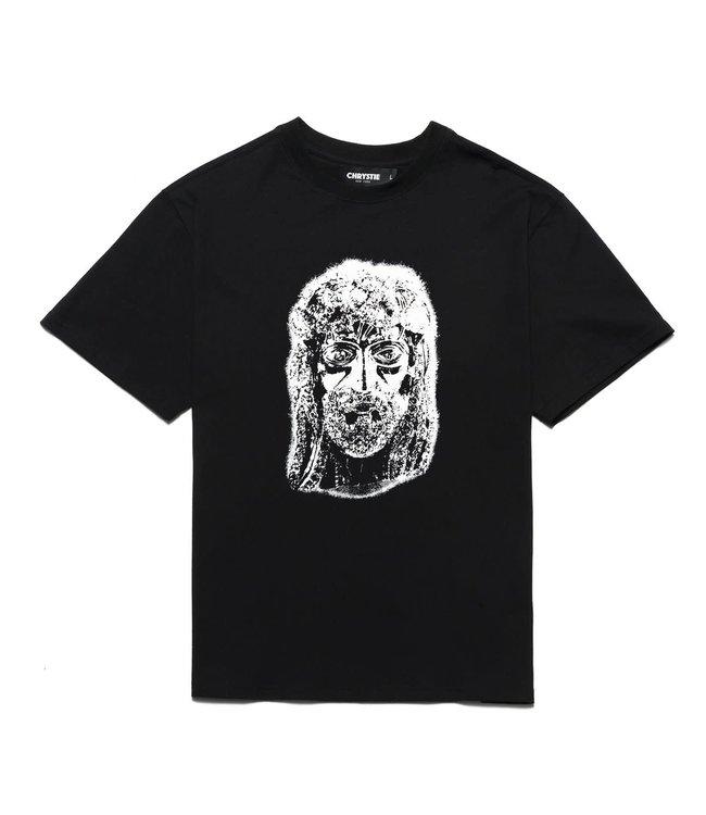 Chrystie Harlem Jesus T-shirt Black