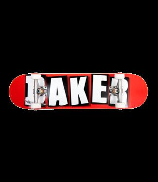 Baker Baker Brand Logo Complete WHT 8