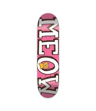 MEOW Meow Logo Pink 7.75