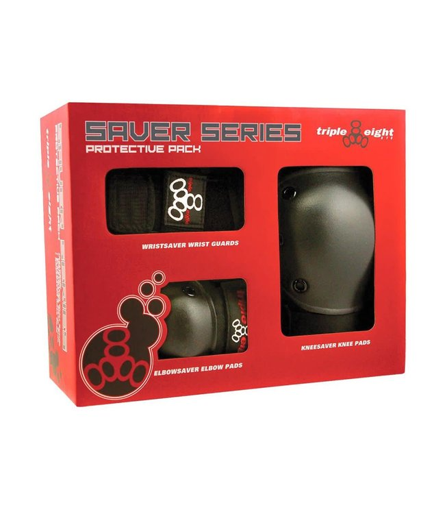Triple 8 Saver Series 3 Pack Pads