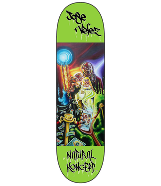 "Natural Koncepts Natural Koncepts deck Jose Velez ""Bungalow 8"" 8.25"
