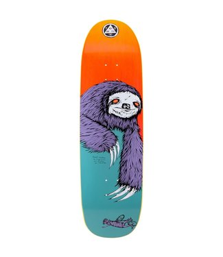 Welcome Welcome deck  TEAL/YELLOW STAIN SLOTH ON BOLINE