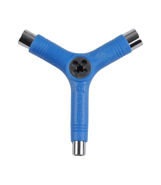 Pig Tri-Socket Threader Tool Blue