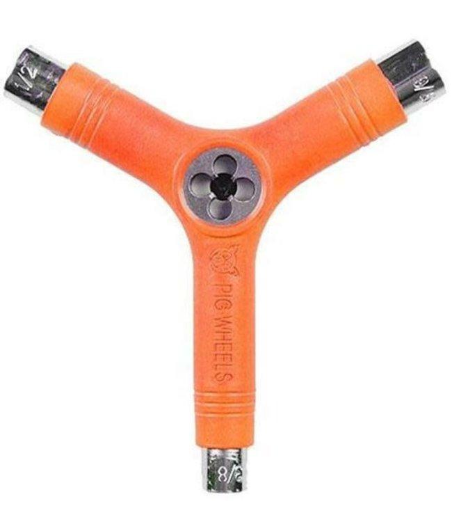 Pig Tri-Socket Threader Tool Orange