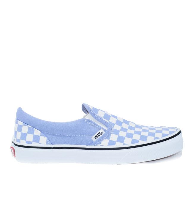 Vans JN Classic-Slip On Checkerboard ULTRAMARINE/TRUE WHITE