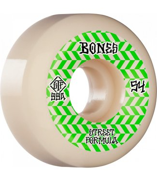 Bones Bones Patterns V5 sidecut 99A wheels 54mm white