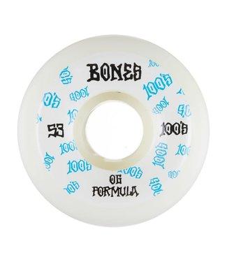 Bones Bones 100 #3 Original Formula v5 sidecut 55mm white