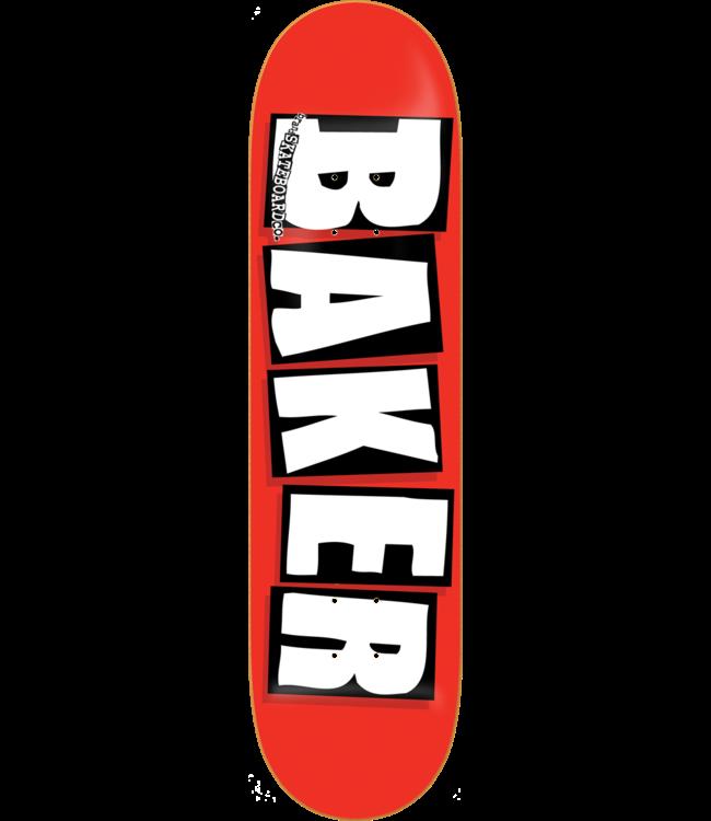 Baker deck Brand Logo White deck 8.5