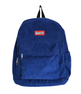 Baker Baker Brand Logo Royal Cord Backpack