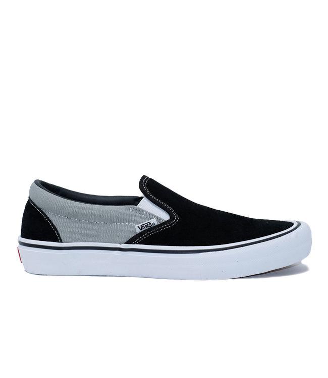 Vans MN Slip-On Pro (NATION) BLACK//(NATION)  Black/Silver