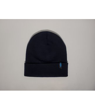 KCDC KCDC Deluxe Fine Knit Watch Cap Beanie  Navy Blue