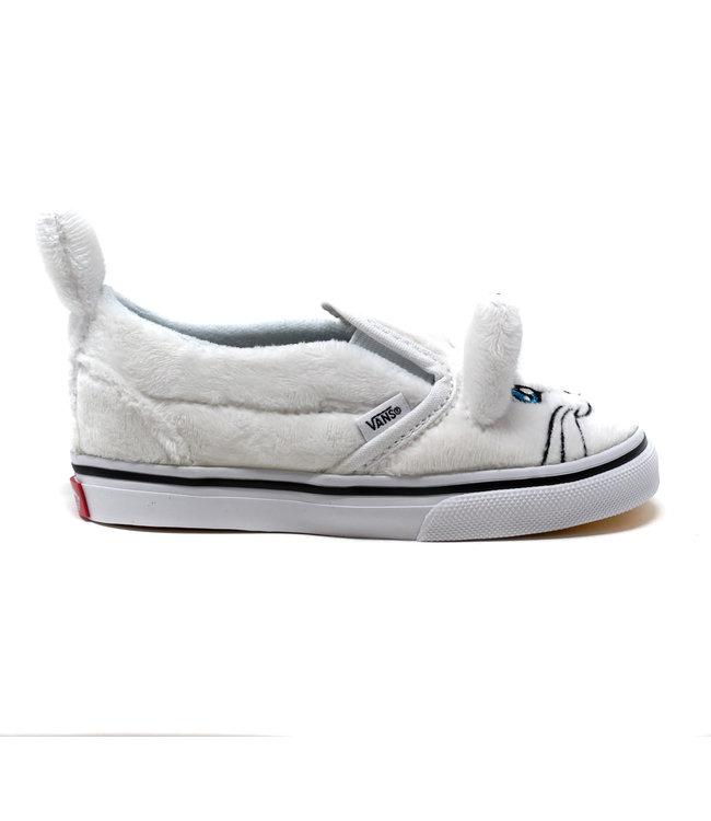 Vans TODDLER CAT SLIP-ON V TRUE WHITE/TRUE WHITE