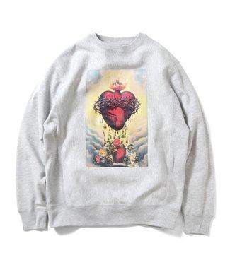 Saints and Sinners Saints and Sinners Sacred Heart Crewneck Sweatshirt