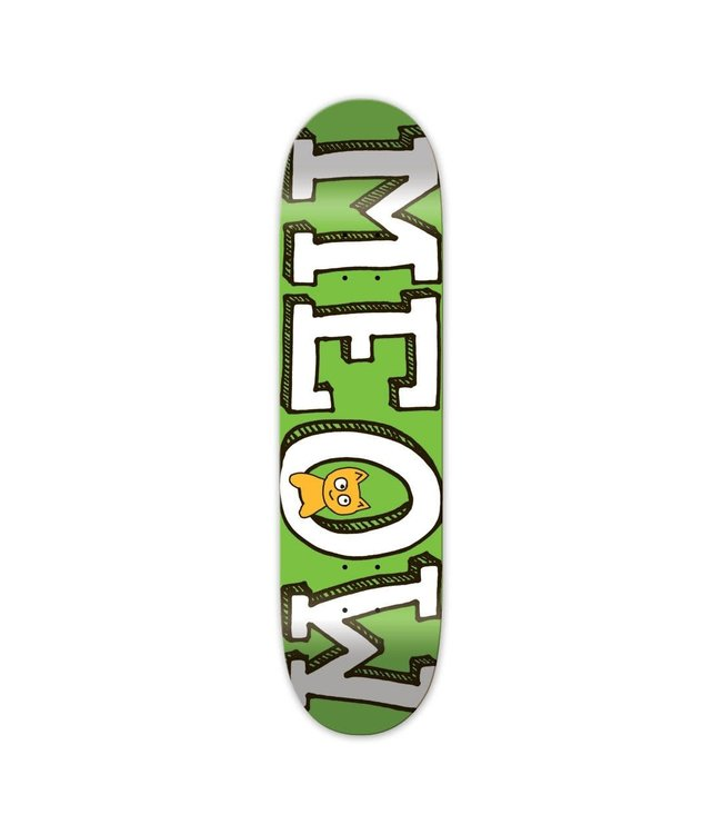 Meow deck  Team Logo Green 8.25