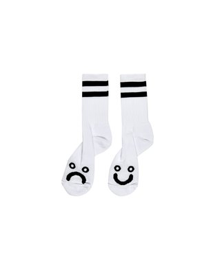 Polar Happy Sad Socks White Size 35-38