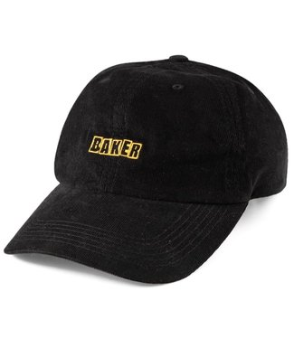 Baker Brand Logo BLK Cord Snapback